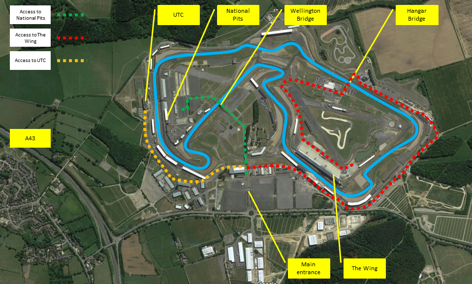 Silverstone Directions